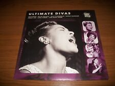 vinyl 33 tours, ultimate divas, billie holiday, lena horne, peggy lee,neuf