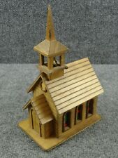 Vintage Wooden George Good Church House Music Box