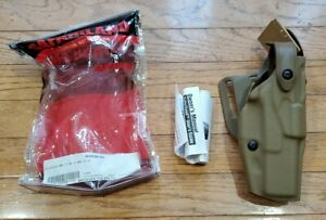 Safariland 6360 ALS /SLS Lev-3 LH STX FDE Duty Holster RIGHT - GLOCK 17 19 22 23