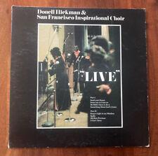 Donell Hickman & San Francisco Inspirational Choir Live!~1977 Black Gospel LP
