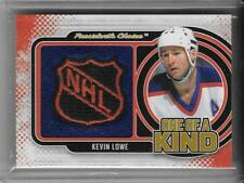 KEVIN LOWE 2017 PRESIDENTS CHOICE ONE OF A KIND NHL SHIELD #1/1 MASTERPIECE