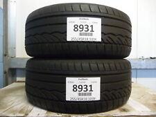 2 x 255/45 R18 103Y XL  Dunlop Sp Sport 01