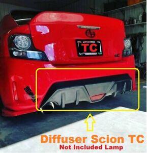 New Scion TC 14-16 Rear Lower Diffuser Fiberglass 1pcs
