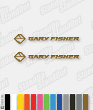 Gary Fisher Decals x2 - Single Colour - Custom Colours + Matte + Fluorescent