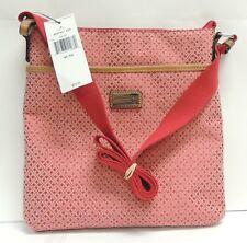 Tommy Hilfiger Red Crossbody Satchel Handbag Leather 6937431624 - FREE SHIPPING