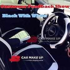 BEST universal car steering wheel cover PU leather steering wheel cover white