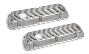 Ford Small Block 1962-1985 260-351W Finned Valve Covers 6861g