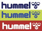 Hummel 80's Felt Football Shirt Soccer Numbers Heat Print Football Vintage Logo