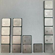 LOT OF 17 - AMD Athlon II 4X (Quad core) AM2+/AM3 Socket Desktop CPU Processors