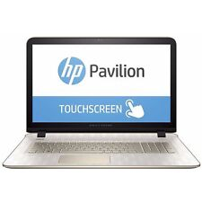 HP PaViLiOn 17.3in gaming LAPTOP 3.2Gh TOUCHSCREEN 1TB HDD DVD/RW Win 10 Gold