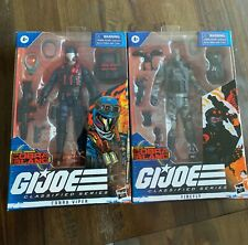 NEW!!!! g.i. joe classified series, cobra island combo, cobra viper and firefly