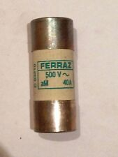 FERRAZ FUSIBLE C63210 40A AM 22X58 500V