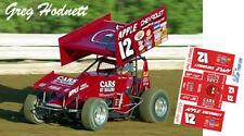 CD_DSC_090 #12 Greg Hodnett Apple Chevrolet Sprint Car   1:87 Decals   ~NEW~
