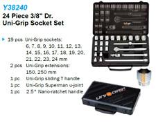 "Liquidation - 24 Piece 3/8"" Dr. Uni-Grip Socket Set Y38240"