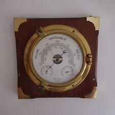 Station météo cloison aiguille METEOSTAR International France vintage 1950 N4353