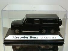 ZIM-IZ MERCEDES BENZ G-CLASS 6x6 - BLACK 1:43 - EXCELLENT IN BOX - HAND-BUILT