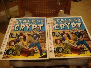 (2) Tales from the Crypt #1 1991 EC Comics - Russ Cochran