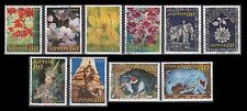 Japan 2998a-j 120th anniversary of relations with Thailand (10 USED Stamps)