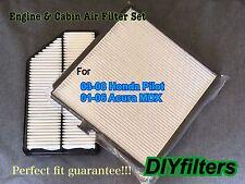 COMBO SET ENGINE & CABIN AIR FILTER AF5403 C45459 FOR HONDA PILOT ACURA MDX