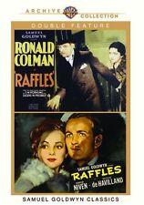 RAFFLES DOUBLE FEATURE (Ronald Colman/David Niven) - Region Free DVD - Sealed