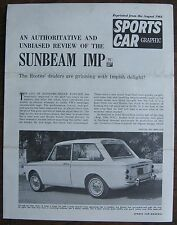 Sunbeam IMP circa 1964 Brochure