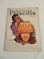 Vtg MODERN PRISCILLA Magazine January 1930 Campbells Soup Camel Cigarettes Ads