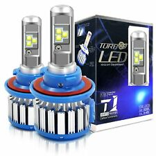 Canbus H13 9008 LED Headlight Bulbs 6000K High Low Beam White Conversion Kit 2pc