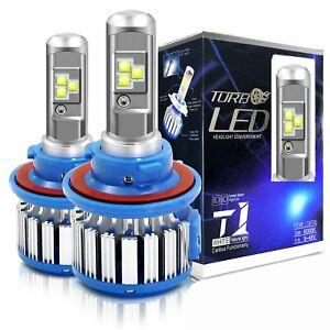 H13 9008 LED Headlight Bulbs 6000K Error Free Hi/Low Beam White Conversion Kit