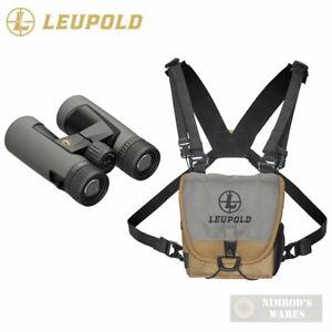 Leupold BX-2 Alpine HD BINOCULAR 10x42mm Harness Covers Cloth 181177 FAST SHIP