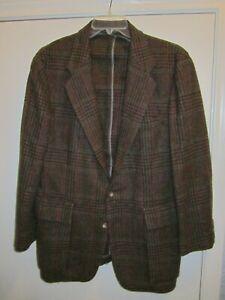 Willis & Geiger Men's Jacket 100% Wool  Size 42 USA