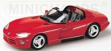 Dodge Viper Gts Cabrio 1993 Red 1:43 Model MINICHAMPS