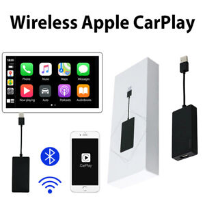 Wireless Bluetooth Carplay USB Dongle Smart Link For Apple iPhone Android