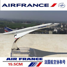 1:400 Concorde Air France Passenger Aircraft Diecast Airplane Model Collection