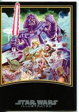 Star Wars Empire Strikes Back Illustrated Movie Poster Chase Card MP-7