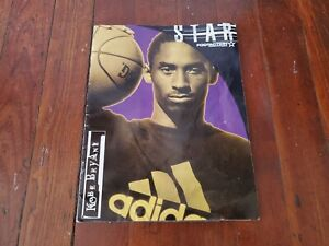 Vintage Rare 1998 Kobe Bryant Footaction Magazine with Fold Out Kobe Poster
