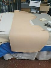 Natural Veg Tan Leather Panel 2.3mm Thickness LOT 1922