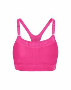 Champion The Show Off Sports Bra Double Dry Max Support Wire Free Vapor Smooth
