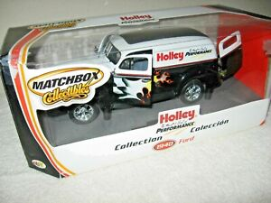 HOLLEY PERFORMANCE 1940 FORD PANEL DELIVERY 1:18 MATCHBOX OPENING HOOD & DOORS
