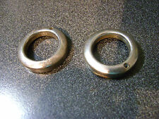One(1)used Campagnolo old style Record FRONT Road hub dust cap Made in Italy