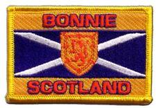 ECOSSE BONNIE SCOTLAND écusson drapeaux drapeaux Patch Aufbügler 8x6cm