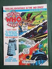 DOCTOR WHO MAG - NO 33 -    MAY 1980