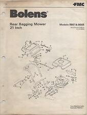 1981 Bolens Rear Bagging Mower 21 Inch Models 8661 & 8668 Parts Manual (105)