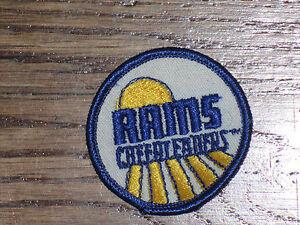 los angeles rams cheerleaders, vintage  patch, new old stock,,1960's