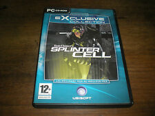 JEU PC TOM CLANCY'S SPLINTER CELL (4 CD) - VERSION FRANCAISE - COMME NEUF
