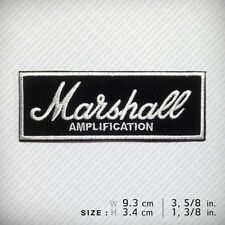 Marshall Embroidered Patch Iron On, D.I.Y Music Style Decorate Clothes Jacket