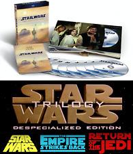 Star Wars Complete Saga 9-Disc Movie Set or Original Trilogy Theatrical Blu-ray