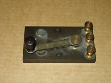 Antique Two-Position (Spdt) Switch Late 19th Century Make Unknown Edison Era