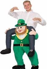 Once Upon a Leprechaun Costume Carry Me Ride On Irish St. St Patricks Day Funny