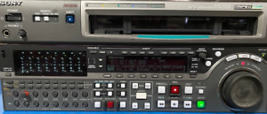 Sony MSW-M2000 MPEG IMX Format Studio Editing Player/Recorder (Used in Field)