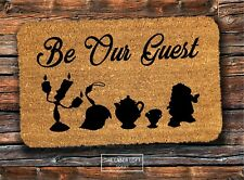 Disney PVC Backed Novelty Funny Coir Door Mat 40cm X 60cm